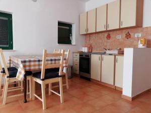 Kuchyň nebo kuchyňský kout v ubytování Kod Male Gospe