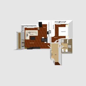 A planta de Apartment UMM