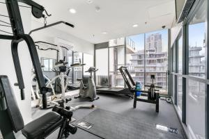 The fitness center and/or fitness facilities at Solaire, 4 Bedroom Penthouse - We Accommodate