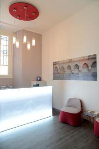 Hall ou réception de l'établissement Le Stanze del Lago Apartments