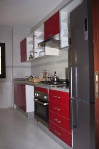 Cuisine ou kitchenette dans l'établissement Marina Saidia