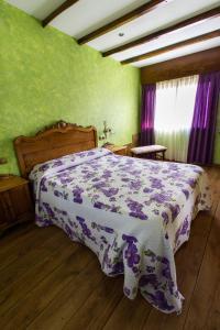 Cama o camas de una habitación en Paraíso Ortegal