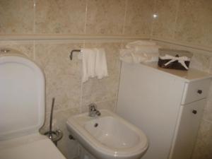 Um banheiro em Casa do Terraço