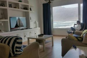 Część wypoczynkowa w obiekcie Playa de Caleta de Famara