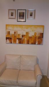 A seating area at San Sebastiano Apartment