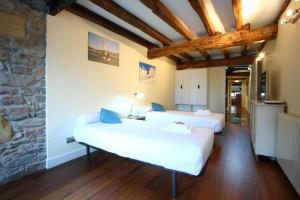 Cama o camas de una habitación en Axula
