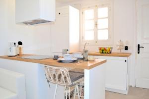 A kitchen or kitchenette at Lindos SeaSide Suite