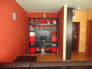 The lounge or bar area at Apartment in Bucuresti Titan
