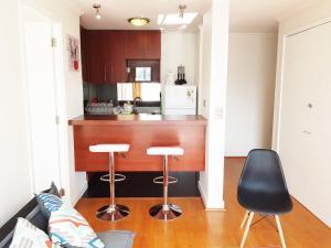 Una cocina o zona de cocina en DSP Apart Nueva Providencia 1372