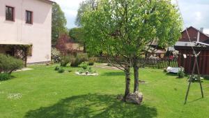 Zahrada ubytování Apartmán Srub