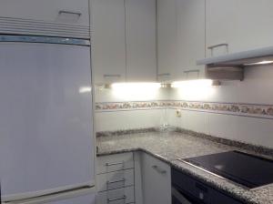 Una cocina o zona de cocina en Apartamento Jauregi