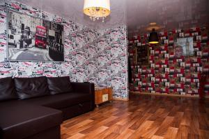 Гостиная зона в Апартаменты Калина на Ленинградской, 37