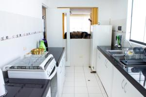 A kitchen or kitchenette at San Isidro apartment