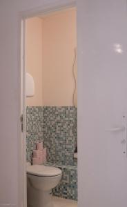 A bathroom at Eiffel Tower / Loft Space