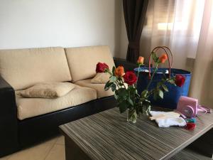 O zonă de relaxare la Club Residence Apartments