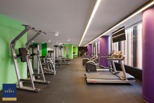 The fitness center and/or fitness facilities at The Sebel Melbourne Docklands