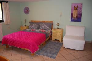 Łóżko lub łóżka w pokoju w obiekcie Marianna Holiday Home