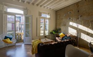 Zona de estar de Verdura Suites ArchSense Apartments