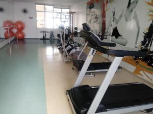 The fitness center and/or fitness facilities at Aracaju - Sergipe - Brasil
