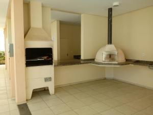 A kitchen or kitchenette at Aracaju - Sergipe - Brasil