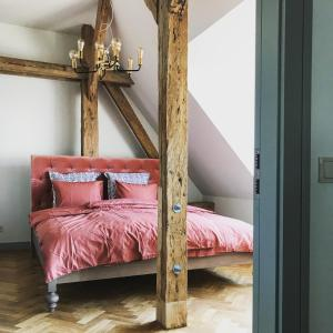 Gulta vai gultas numurā naktsmītnē Beautiful apartments - Romantic