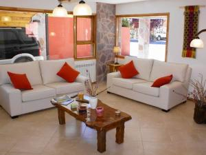 Un lugar para sentarse en Apart Hotel Tierra Nativa