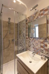 A bathroom at To Be Capri