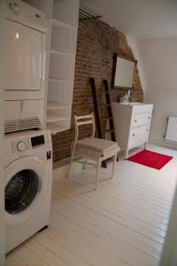 Een badkamer bij Holiday Home Zuiderzin