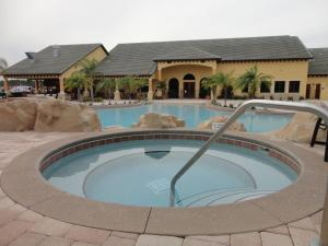 The swimming pool at or near Paradise Palms