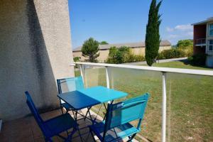 Vue sur la piscine de l'établissement Résidence L'orée De Montpellier ou sur une piscine à proximité