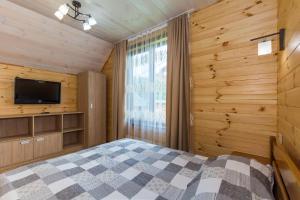Ліжко або ліжка в номері Золота Рибка