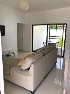 A seating area at Aruba Dream House