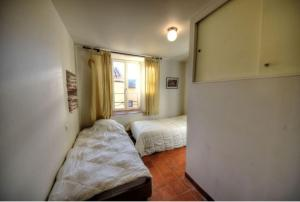 A bed or beds in a room at Provence-Verdon