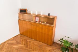 Area lobi atau resepsionis di City center classic apartment