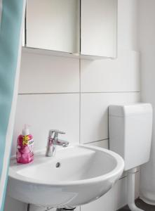 A bathroom at Apartment Ludwig-Feuerbach-Strasse