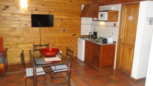 Una cocina o kitchenette en Departamento centrico