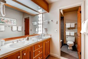 A bathroom at The Forest Neighborhood by Keystone Resort
