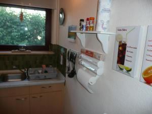 A kitchen or kitchenette at Seestern