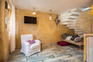 Predel za sedenje v nastanitvi La Dolce Vita Residence