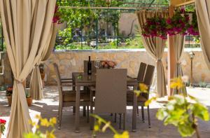 Restaurace v ubytování Apartmani Oaza