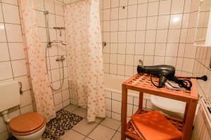 Ein Badezimmer in der Unterkunft Gesundheitshaus Rittmeyer