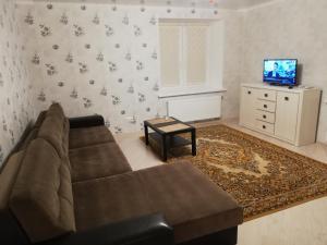Et sittehjørne på Apartament Lida