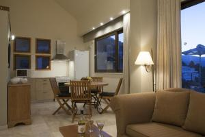 A seating area at Istron Luxury Villas