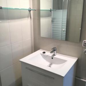 A bathroom at Aiguaneu Sa Carbonera