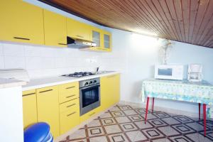 A kitchen or kitchenette at Apartment Kampor 5064a