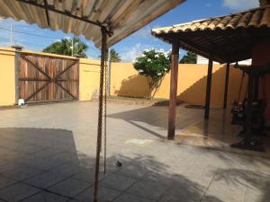 A porch or other outdoor area at Casa praia Aracaju