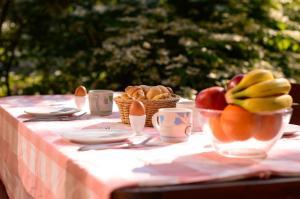 Ein Restaurant oder anderes Speiselokal in der Unterkunft Chalet Pierre