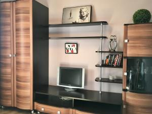 A television and/or entertainment center at Lenskaya apartment
