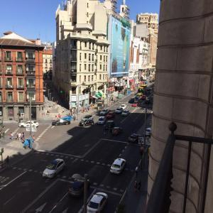 Ein allgemeiner Blick auf Madrid oder ein Stadtblick von der Ferienwohnung aus