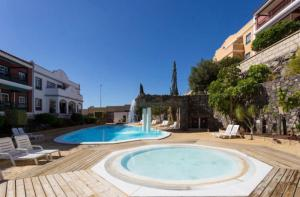The swimming pool at or near Holidays home
